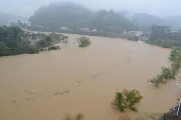Enchente em Blumenau