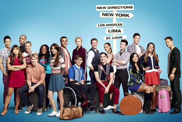 Elenco da 4ª temporada de Glee. FOX/Divulgação.