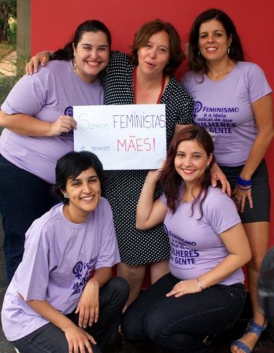 Maysa, Cecilia, Juliana, Amanda e Tâmara. Foto de Cecilia Santos.
