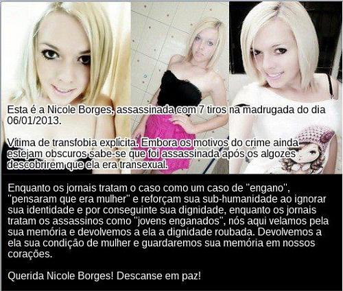 Imagem disponibilizada pelo site Transexualidade.com.br