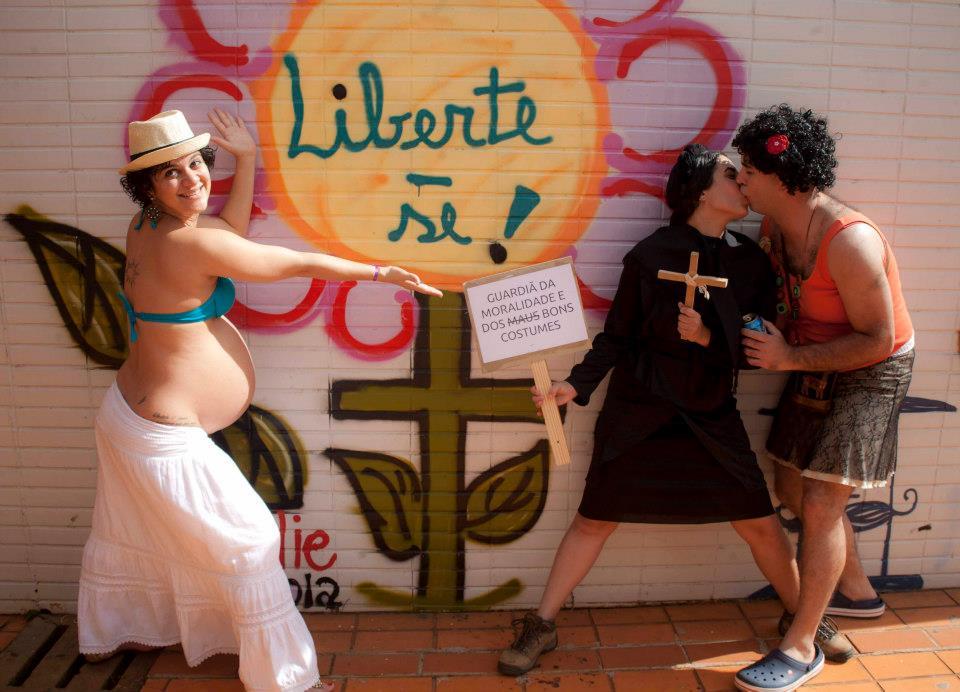 Diana Melo e Milena Araguaia. Foto de Julia Zamboni. Todos os direitos reservados