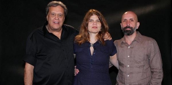 Dennis Carvalho, Claudia Lage e João Ximenes Braga. Diretor e escritores da novela Lado a Lado. Foto: Agnews/UOL.