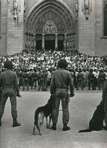Ato do Movimento do Custo de Vida, Praça da Sé, São Paulo – 1978. Arquivo do MST.