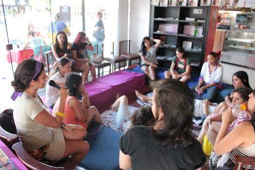 Debate no Festival Mulheres no Volante (2012) em Brasília. Foto: Mulheres no Volante no Facebook.