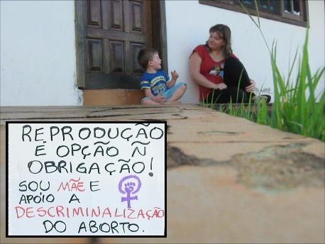 Campanha do Grupo FemMaterna.