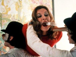 Cena do filme 'Laranja Mecânica' (1971).