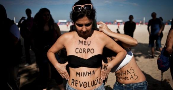 Marcha das Vadias do Rio de Janeiro/2012. Foto de Guillermo Giasant/UOL.