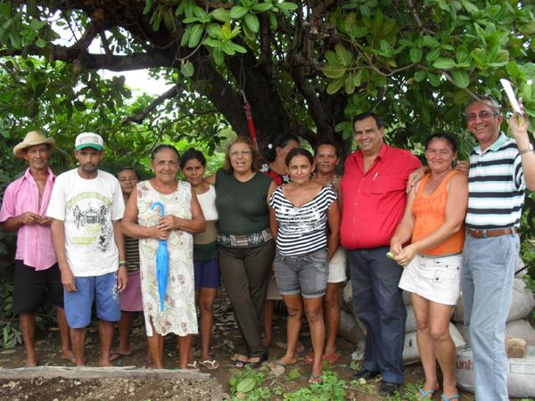 Fornecedores locais da merenda escolar em Caraúbas do Piauí. Foto de Denise Alencar