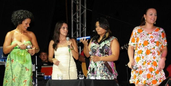 Show 'Canta Mulher' 2011, organizado pelo Fórum Popular de Mulheres. Foto de Medeiros/Prefeitura Municipal de Porto Velho.