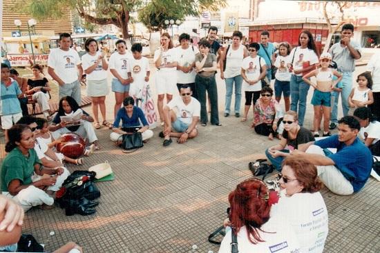 Movimento Feminista de Porto Velho. Foto de Risolene Maria Souza Silva.