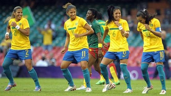 Seleção Feminina de Futebol do Brasil. Foto: Agência EFE.