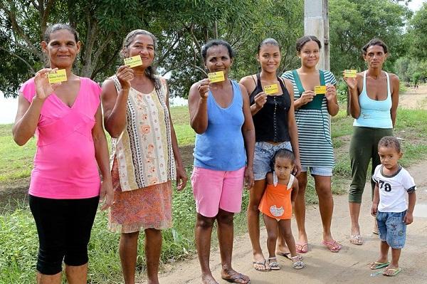 Beneficiárias do programa Bolsa Família. Foto de Ana Nascimento/Sul 21.