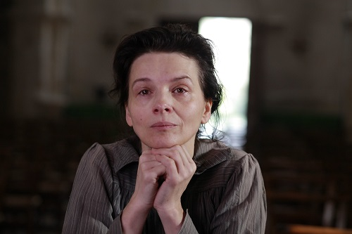 Camille Claudel, interpretada por Juliette Binoche.