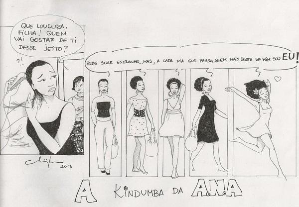 A Kindumba da A.N.A, por Chiquinha no Facebook.