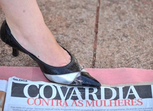 Violência contra mulher: SUS atende 2,6 vezes mais mulheres que homens. Foto de Marcello Casal Jr./Agência Brasil.