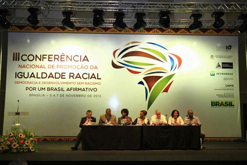 Abertura da III CONAPIR - Conferência Nacional de Promoção da Igualdade Racial. Foto de CONAPIR/Divulgação.