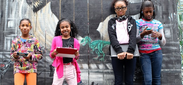 Foto de divulgação do site Black Girls Code.