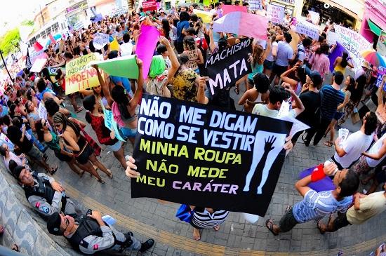 Marcha das Vadias de João Pessoa/PB 2012. Foto de Thercles Silva no Facebook.