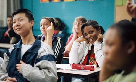Cena do filme francês 'Entre os muros da escola' (2008).