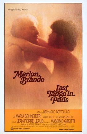 """Cartaz de """"O Último Tango em Paris"""" (1972)."""