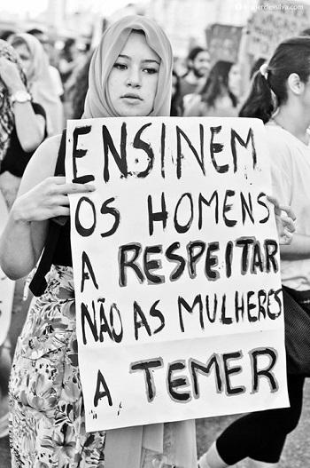 Marcha das Vadias Rio de Janeiro, 2012. Foto de Thercles Silva no Facebook.