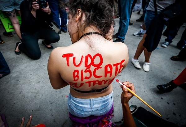 3ª Marcha das Vadias em São Paulo. Foto de Leandro Moraes/UOL.