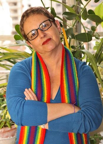 """Hanna Korich, diretora do documentário """"Cassandra Rios: a Safo de Perdizes"""". Foto: arquivo pessoal com autorização."""