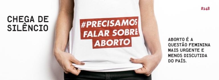 Banner da Campanha '#Precisamos Falar Sobre Aborto' da Revista TPM.