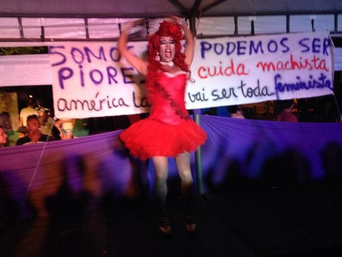 Bloco das Perseguidas 2015. Foto de Tatiana Lionço.