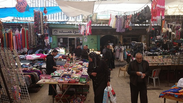 Mercado em Al-Khalil (Hebron). Março, 2015. Foto de Cecilia Olliveira no Flickr.