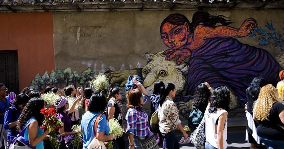 II Encontro de Mulheres - ELLA. Cochabamba, Bolivia, 2015. Foto de Constanza Portnoy.