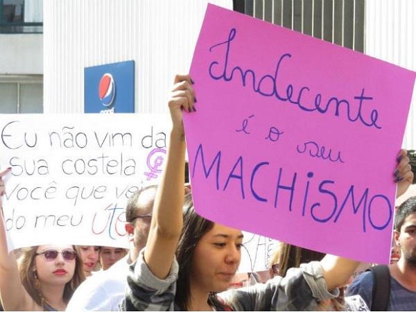 Marcha das Vadias de Curitiba/PR em 2014. Foto de Foto: Giselle Durigan/Arquivo pessoal.