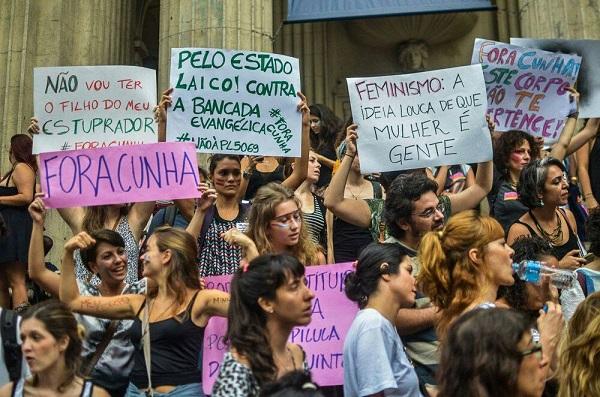 Marcha das Mulheres Contra Cunha. Rio de Janeiro, 2015. Foto de Mídia NINJA.