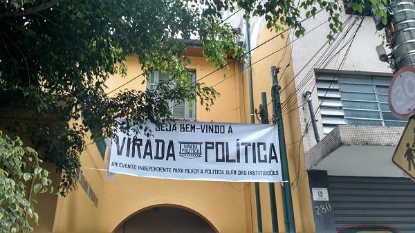 Virada Política. São Paulo, novembro de 2015. Foto de Vanessa Rodrigues.