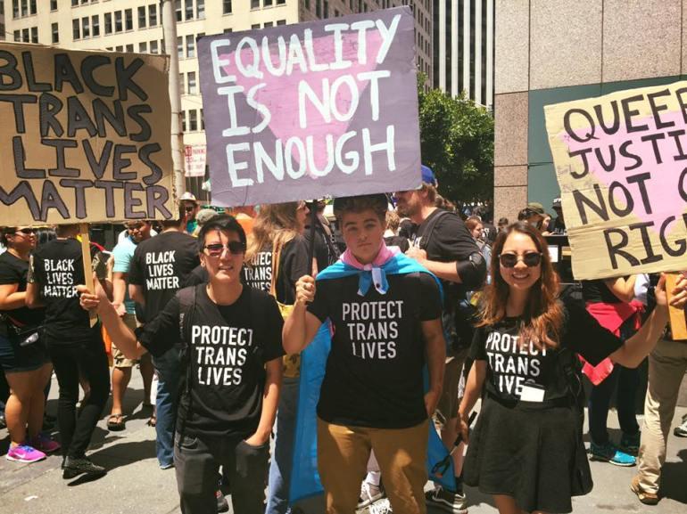 Foto da página Trans Student Educational Resources.