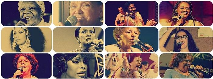 Imagem com diversas mulheres sambistas divulgada na página do documentário Bambas.