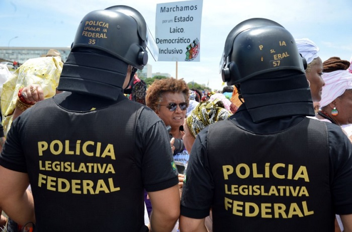Brasília - Marcha das Mulheres Negras, 2015. Foto de Antonio Cruz/Agência Brasil.