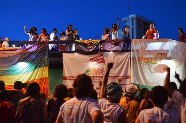 Junho/2016 - Atividade de encerramento do 9° SENALESBI com a 15ª Parada da Diversidade de Teresina/PI. Foto de Diego Rodrigues/R2 Comunicações.